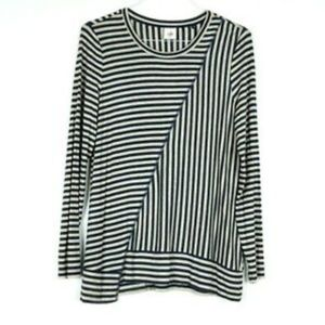[cAbi] Ernest Stripe Knit Tee Tunic Top